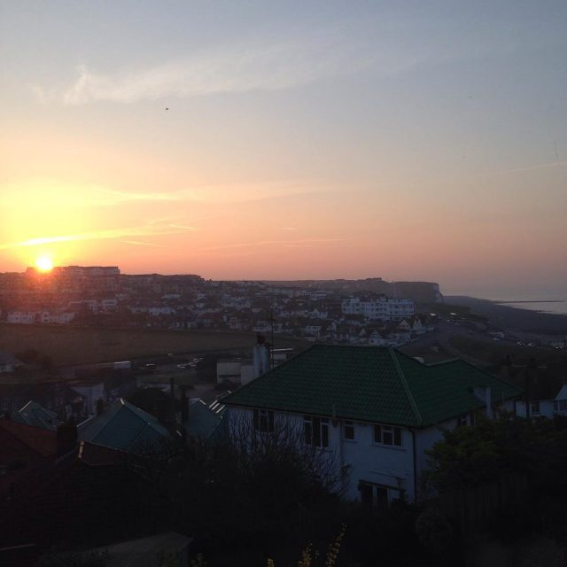 Good morning world have a wonderful day sunrise saltdean brightonhellip