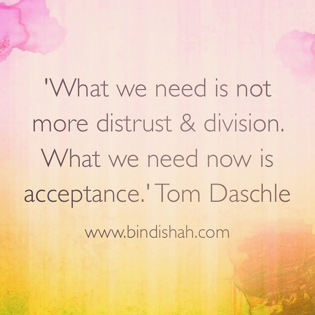 What we need is not more distrust and division Whathellip