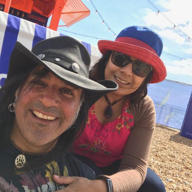 Birthday fun  Grease sing along at Brighton beach greasehellip