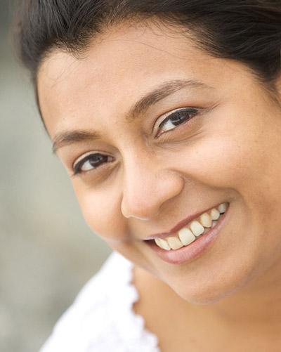 Portrait Bindi Shah Home Page