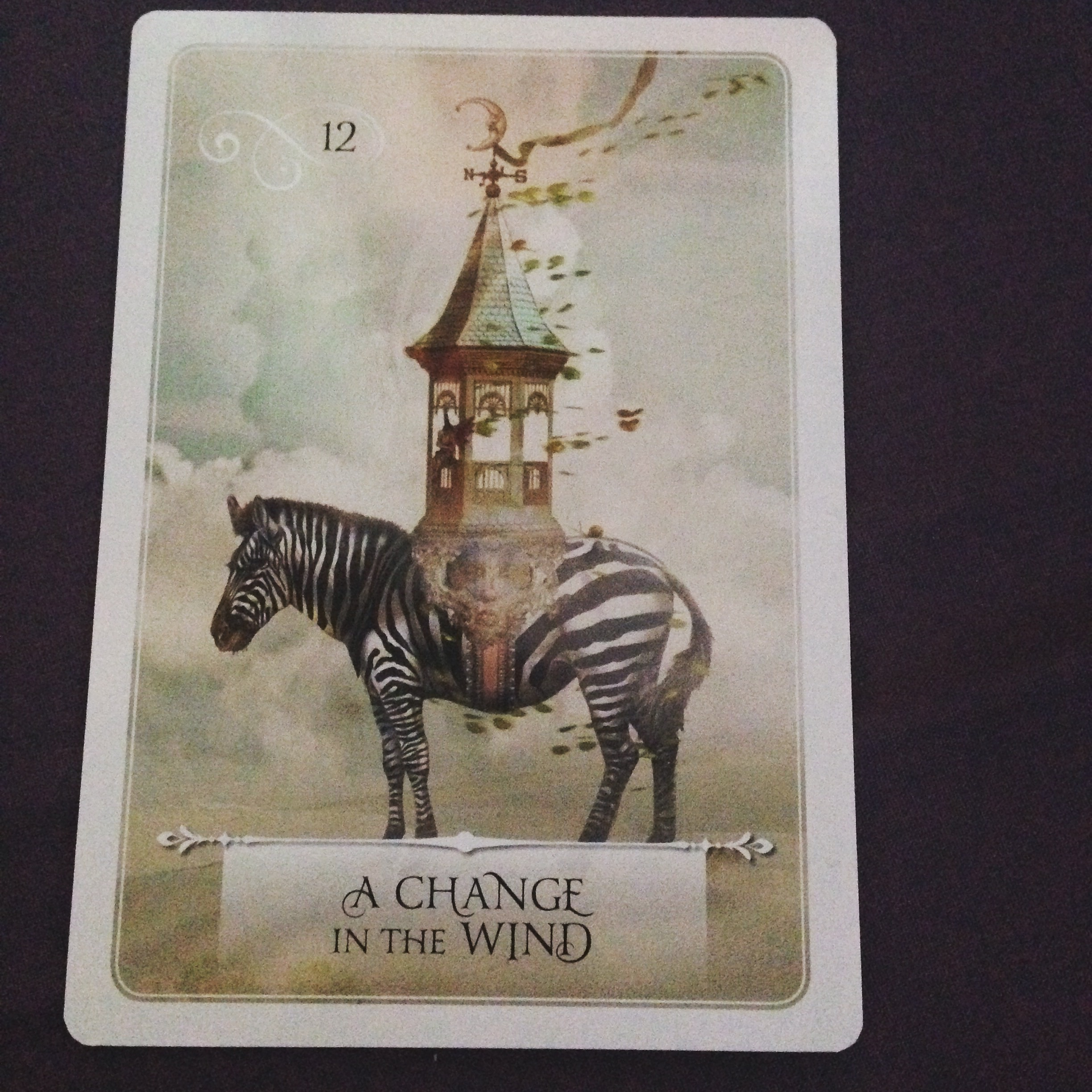 change in wind oracle card