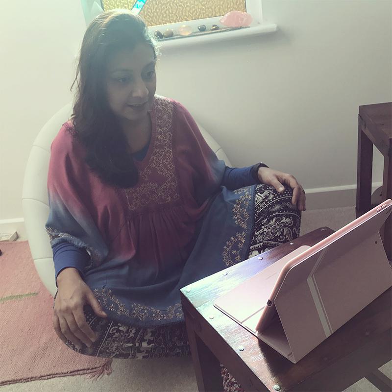 Bindi Shah Teaching Class online